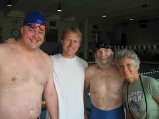 Jeff O, Carlton, Ed and Adrienne