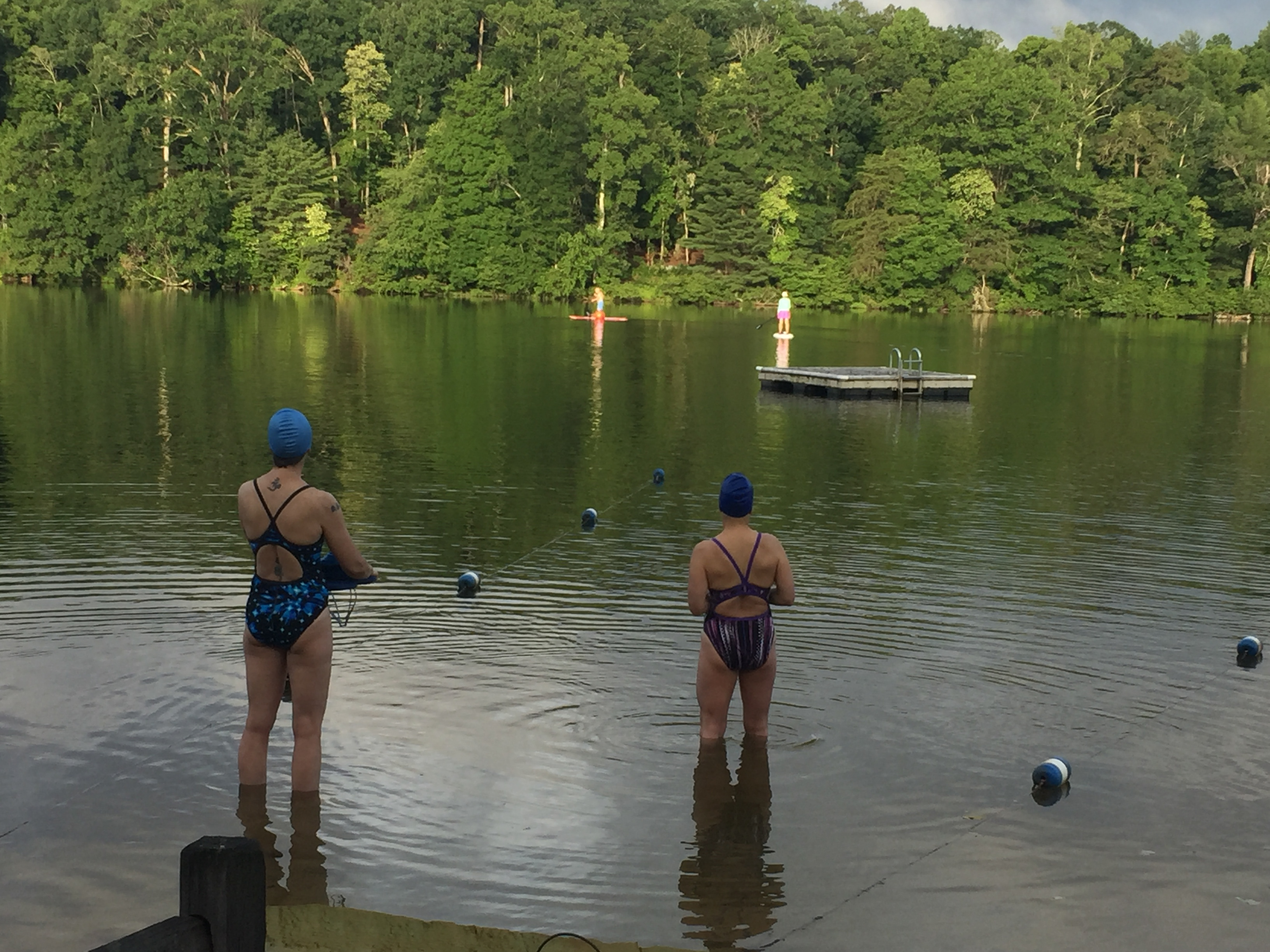 Gorgeous Biltmore Lake Asheville Masters Swimming